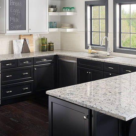 salt quartz kitchen counters